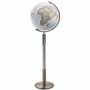 Globe Terrestre Sur Pied : globe terrestre duo alba swarovski sur pied vente en ligne peti ~ Teatrodelosmanantiales.com Idées de Décoration