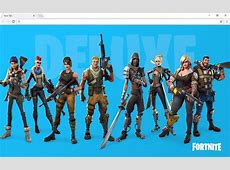 Fortnite Wallpapers & New Tab Chrome Web Store