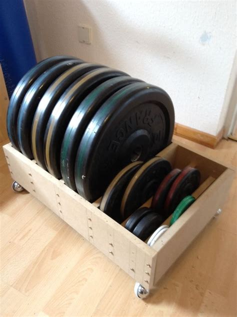 diy olympic plate rack  wheels sherdog mixed martial arts forums diy home gym home
