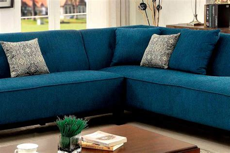 teal fabric sectional sofa fa fabric sectional sofas