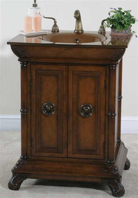 accents petite bathroom vanity 27 inches sink features a