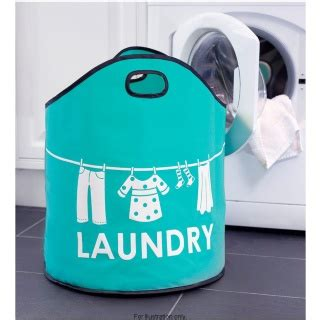 fresh masters flat pack laundry fabric collapsible large laundry clothes her bin bag