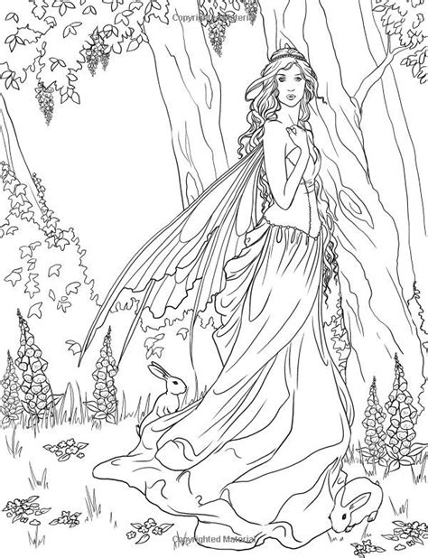 Forest Fairy Coloring Pages Also see the category to find
