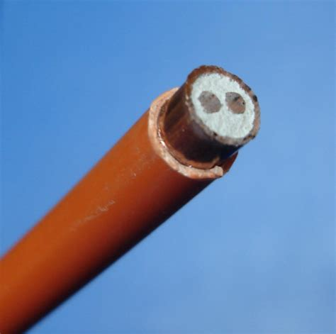 mineral insulated copper clad cable wikipedia