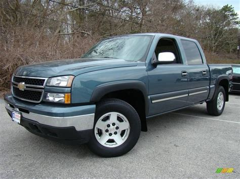 2006 Blue Granite Metallic Chevrolet Silverado 1500 Z71