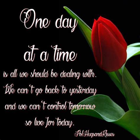 One Day At A Time Quotes Facebook