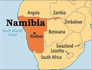 Best Namibia Map - ideas and images on Bing | Find what you\'ll love
