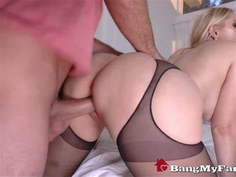 Stretching Out His Sexy Mom Vanessa Cage