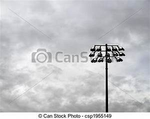 Stock Photographs of Football Field Lights - Football ...