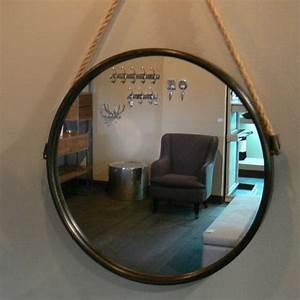 Miroir Rond à Suspendre : 1000 id es sur le th me miroir de corde sur pinterest ~ Teatrodelosmanantiales.com Idées de Décoration