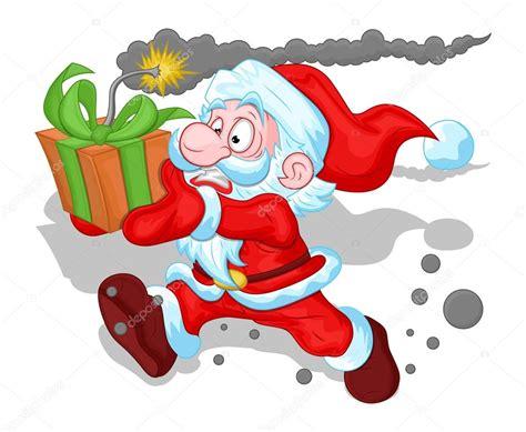 lustige weihnachtsmann bilder lustige weihnachtsmann konzept weihnachten vektor illustration stockvektor 169 baavli 16948541