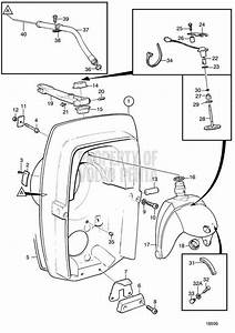 Volvo Penta Exploded View    Schematic Transom Shield