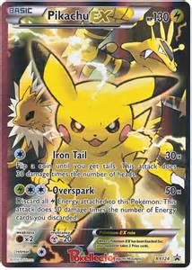 pokemon pikachu ex pokemon cards images