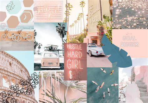 4k macbook wallpaper aesthetic collage desktop