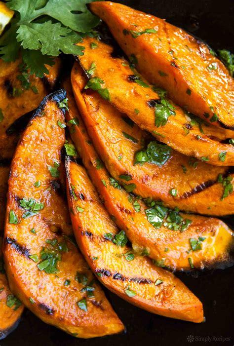 sweet potato recipie grilled sweet potatoes recipe simplyrecipes com