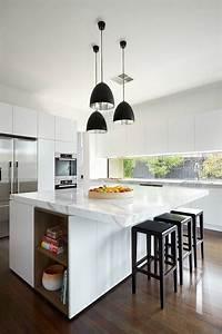 Moderne Küchenlampen Decke : k chenbeleuchtung die k che modern und funktional beleuchten ~ A.2002-acura-tl-radio.info Haus und Dekorationen