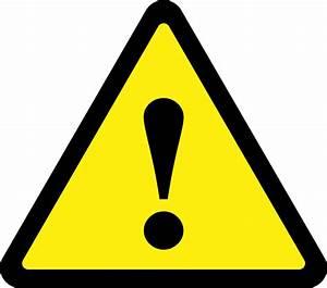 Caution Triangle Symbol - Cliparts.co