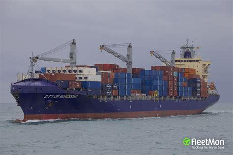 vessel city  hongkong container ship imo  mmsi