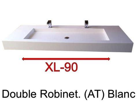 plan vasque 100 cm vasques largeur 100 plan vasque suspendue ou 224 encastrer robinetterie largeur 100 cm