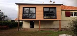 Impressionnant agrandissement maison en l 2 for Agrandissement maison sur pilotis