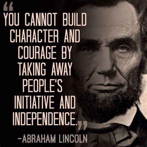 Abraham Lincoln Quotes On Character Quotesgram