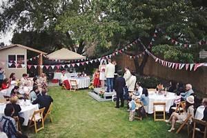 Tasha Noahs Americana Backyard BBQ Wedding Rock N