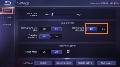 Cara Mengaktifkan Voice Chat Di Mobile Legends
