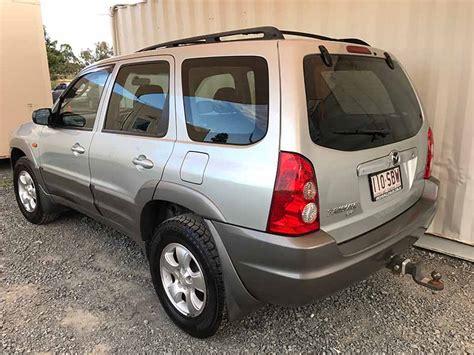 automatic  suv  mazda tribute silver  vehicle sales