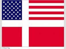 Mixed USA and Denmark Flag Tshirt Designs