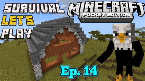 Minecraft Pe Barn by Survival Let S Play Ep 14 Barn Roof Minecraft Pe