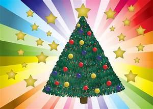 Geschmückter Weihnachtsbaum Fotos : geschm ckter weihnachtsbaum vektor download der ~ Articles-book.com Haus und Dekorationen