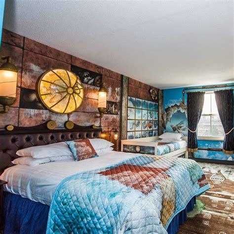 Review Arctic Explorer Room, Alton Towers Hotel