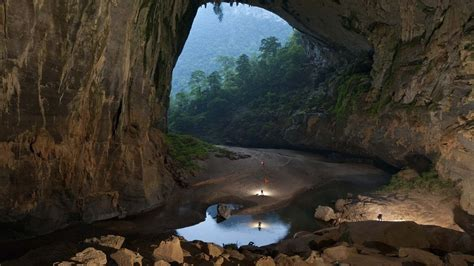 son doong cave hd wallpaper background image