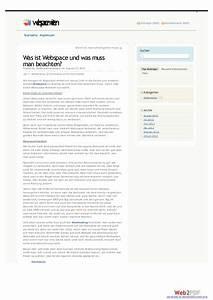 Wohnung Vermieten Was Muss Man Beachten : was ist webspace und was muss man beachten ~ Yasmunasinghe.com Haus und Dekorationen