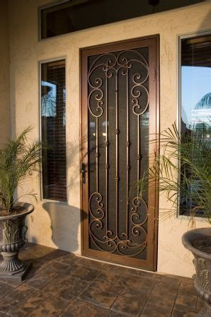 images  wrought iron door gates  pinterest