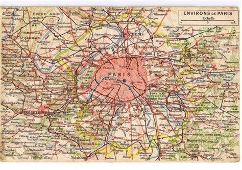 Carte Des Banlieue by Pin Carte Region Parisienne On