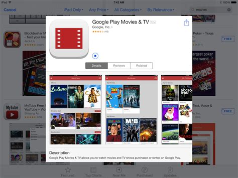 Google Play Movies And Tv App Now Available On Ios For