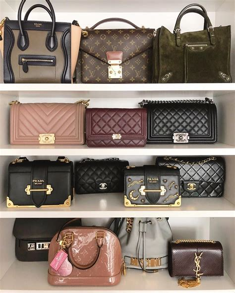 designer handbag collection celine tricolor nano vintage
