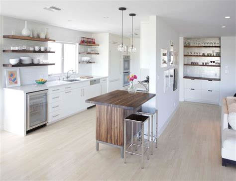 kitchen island with open shelves kitchen design idea 19 exles of open shelving