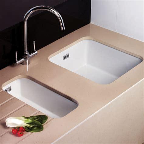 Astini Hton 150 1 5 Bowl White Ceramic Undermount