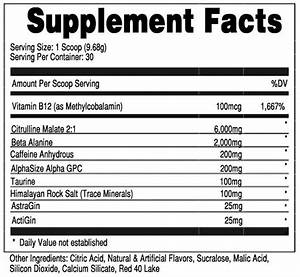Bucked-up-pre-workout-ingredients-list