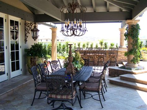 Dining Room Exciting Outdoor Dining Furniture With Black