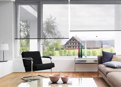 Contemporary Blinds by Roller Blind System Silent Gliss 4840 Roller Blinds From