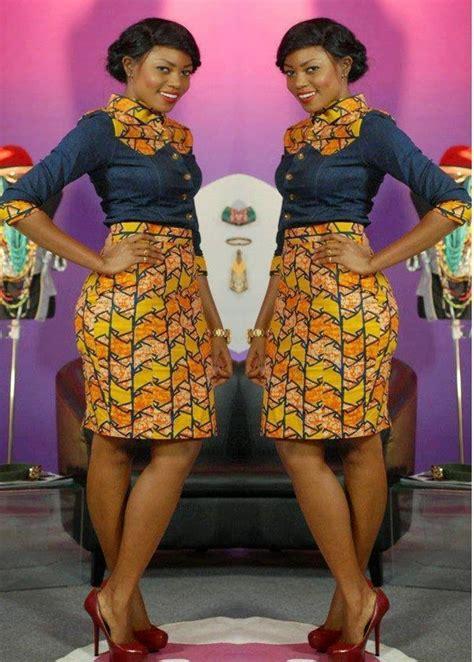 skirt  blouse   fashion kitenge african dress