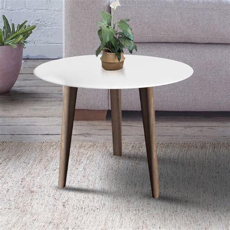 rumah mamia coffee table meja tamu warna putih bentuk