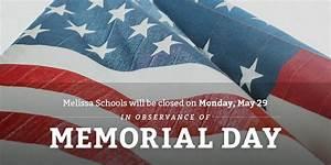 Memorial Day | MelissaISD.org