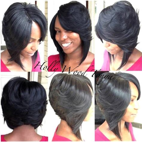 Sew In Weave Hairstyle Gallery by 32 Best Weave Bob Images On Hairstyles