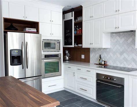 peinturer un comptoir de cuisine finest cuisine blanche aprs with armoire de cuisine