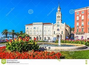 Saint Francis Church In Split  Croatia  Stock Photo