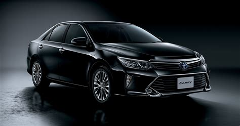 toyota jp 2015 toyota camry gets led headlights and woodgrain trim